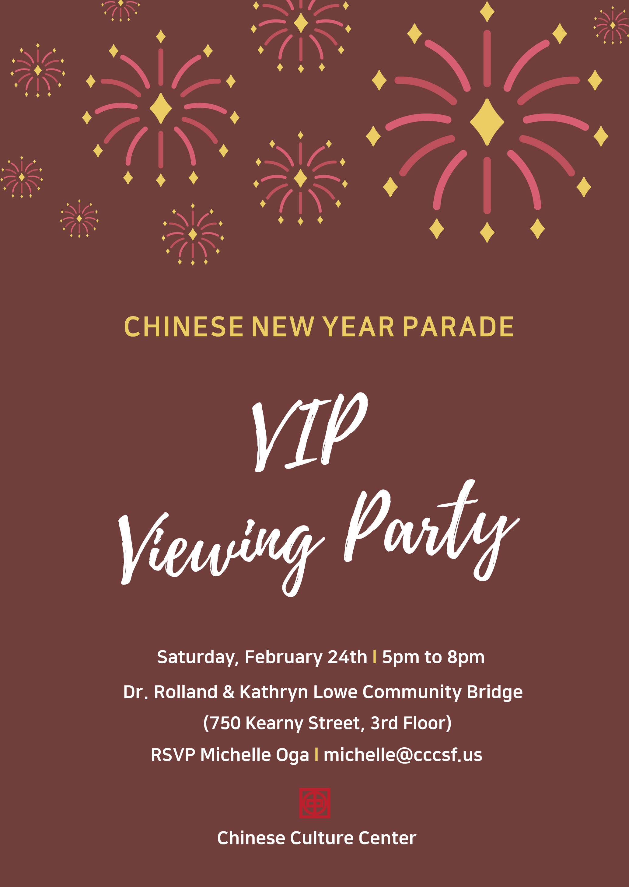 CCC Chinese New Year VIP Viewing Party | Hoodline