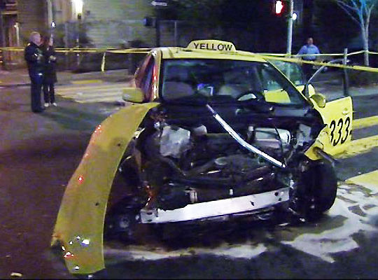 Sf taxi crash