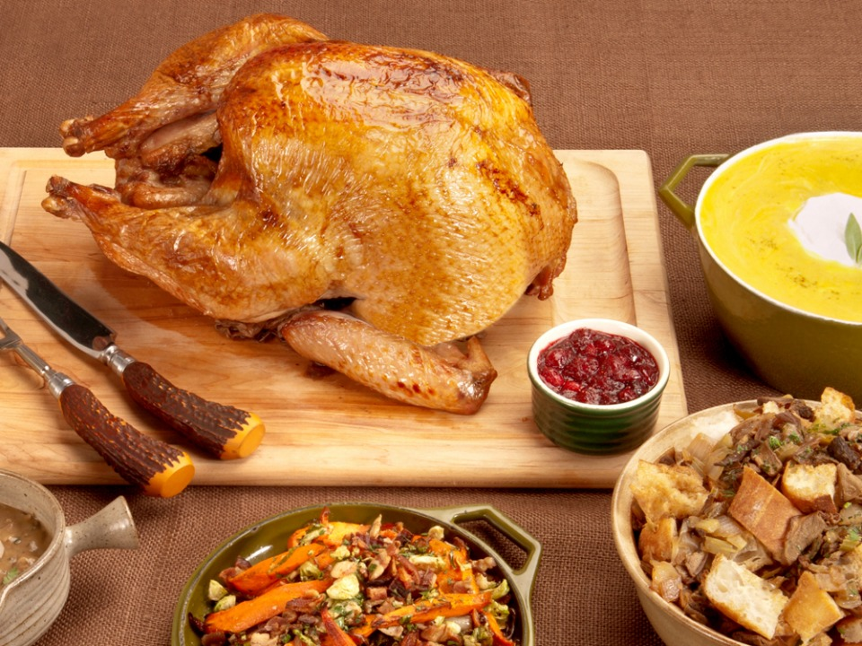 Traditionalturkeydinnerkit