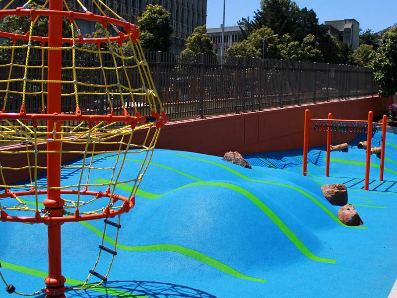Duboce Park Gets Innovative New Play Area | Hoodline