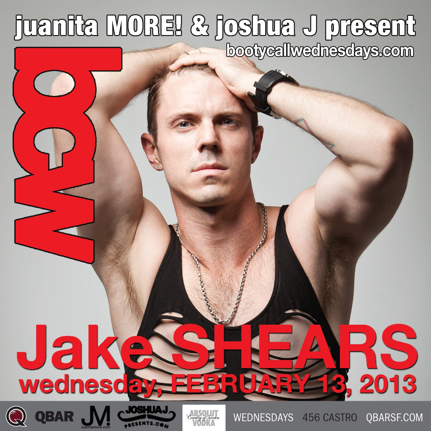 Jake shears booty call wednesdays