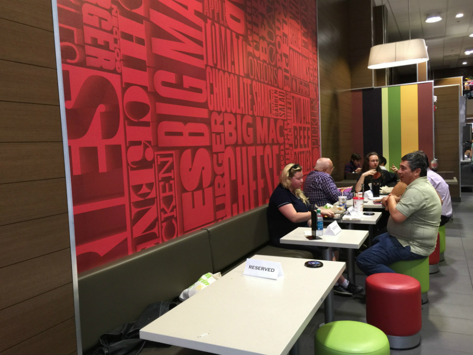 Union square mcdonalds debuts customized create your taste mcd dining sxxofo