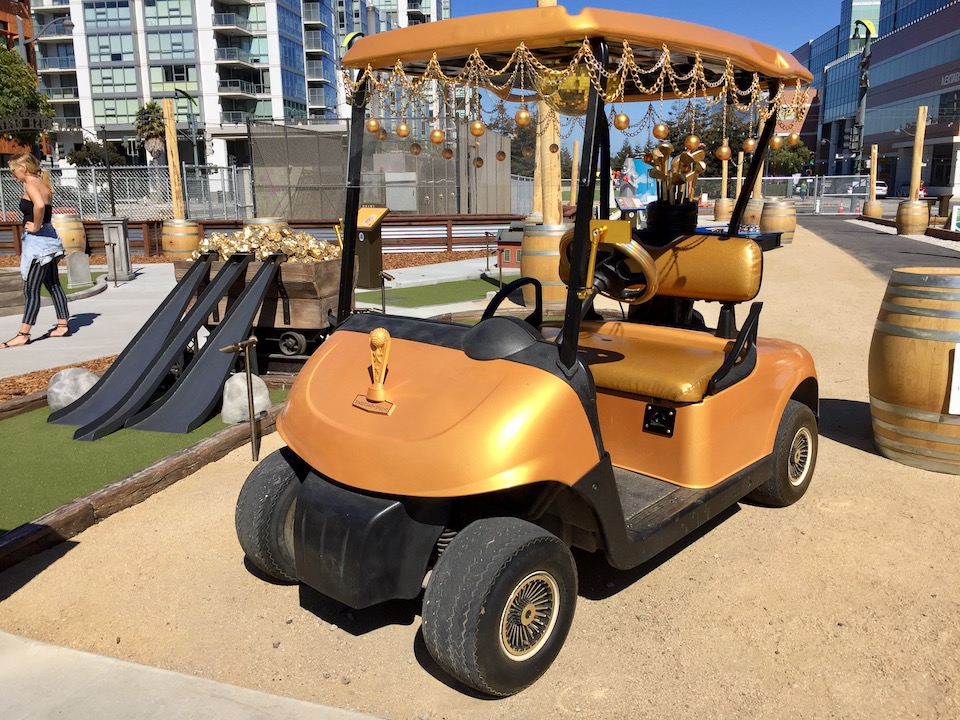 Now open in Mission Bay: SF's first outdoor mini-golf course ... Tower Golf Cart on vise towers, plough towers, plastic storage towers,