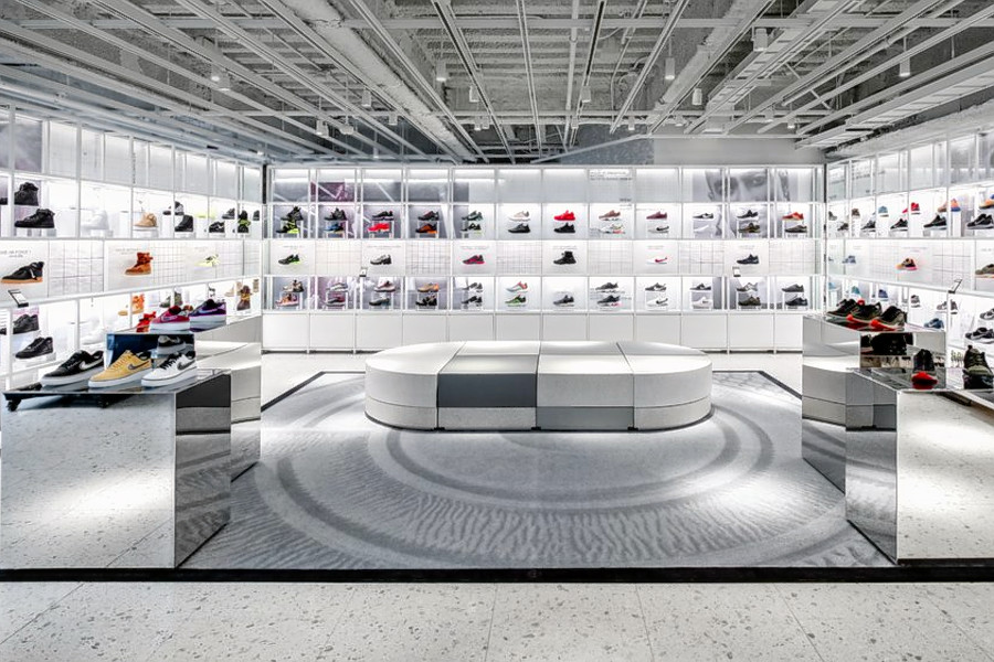 Nike opens six-story flagship store in Midtown: Nike NYC