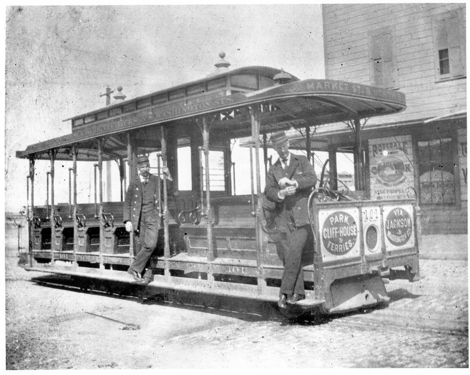 Open powell car 101 1890s copy