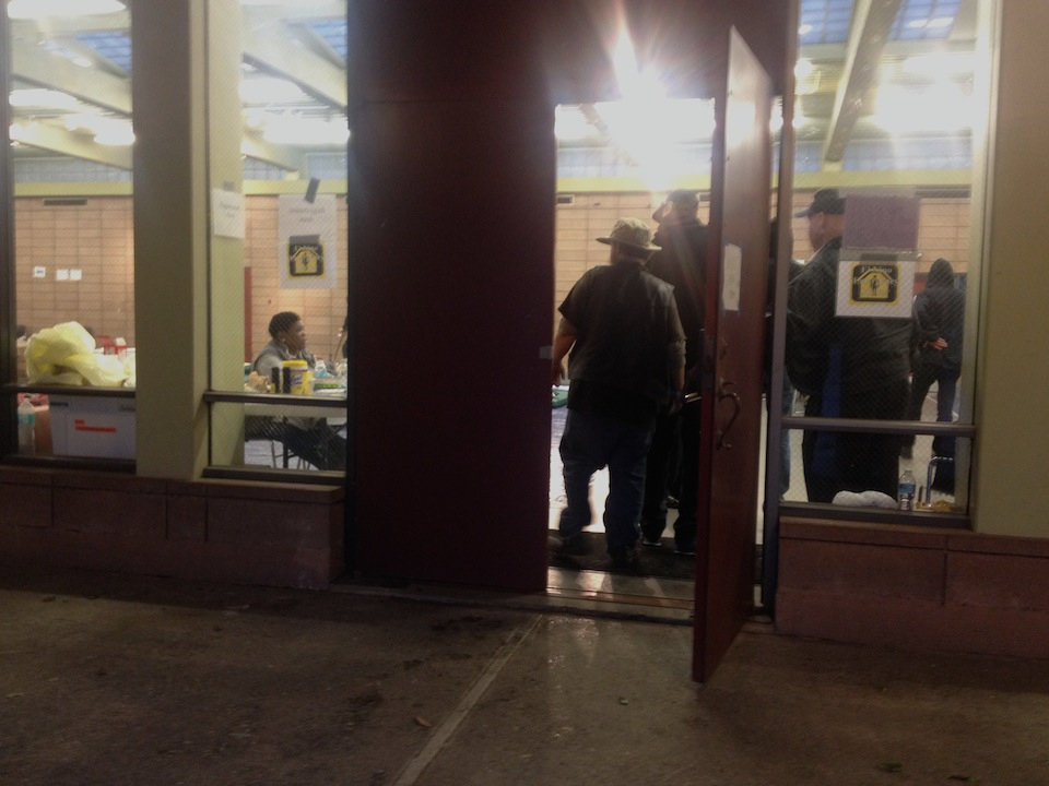 Homeless Shelter Pop Up : Hall of flowers offers pop up homeless shelter for el niño