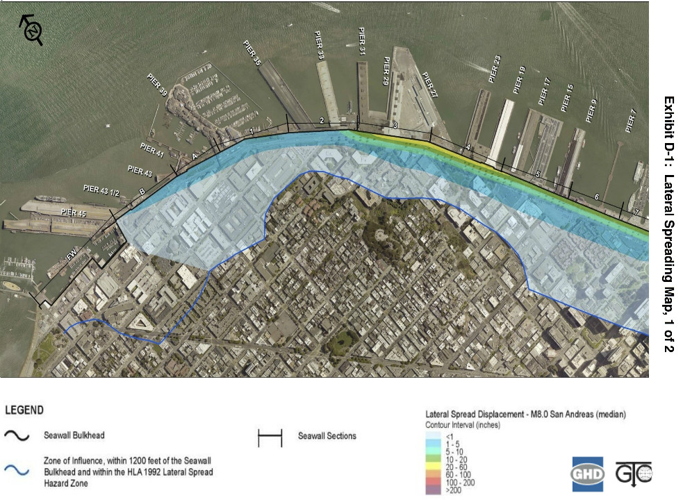 SF Port Says Seawall Fix Will Cost