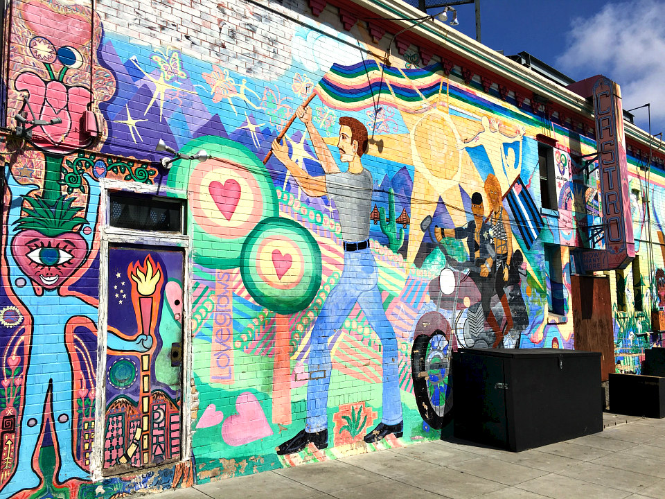 Main image downing hope for world cure mural