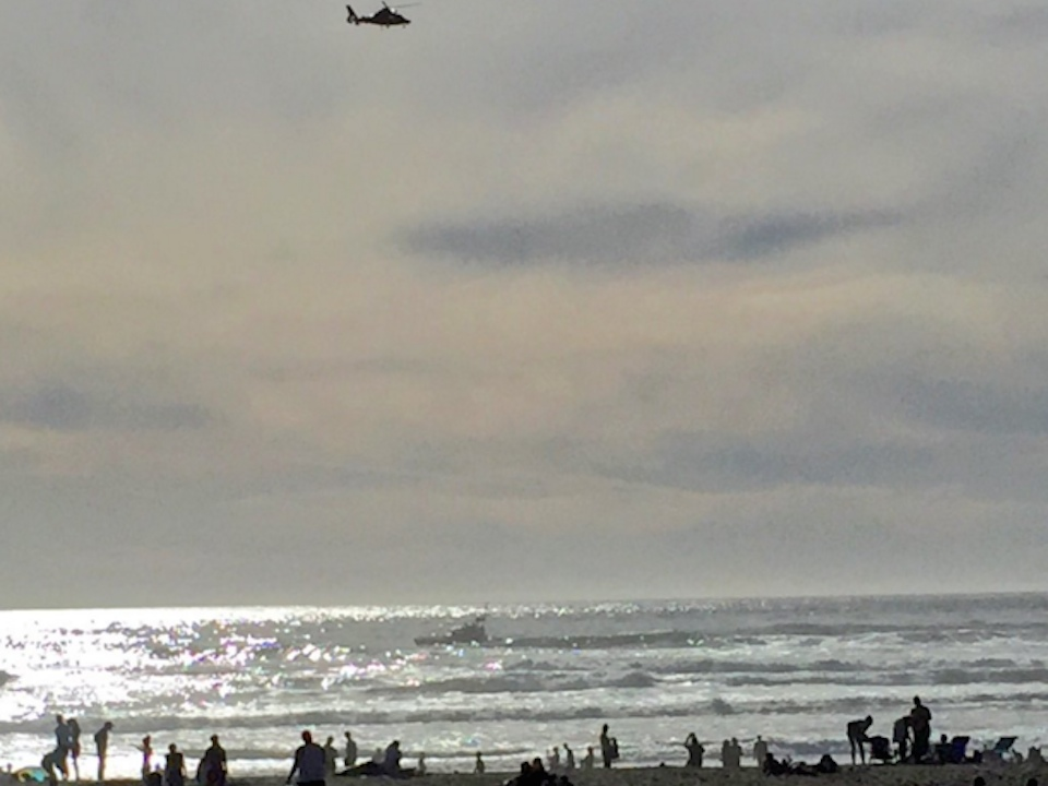 Two San Francisco teens swept into sea, presumed dead