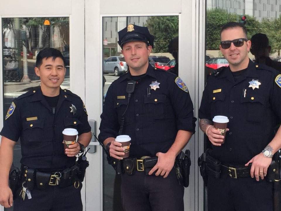 Police officers dating each other