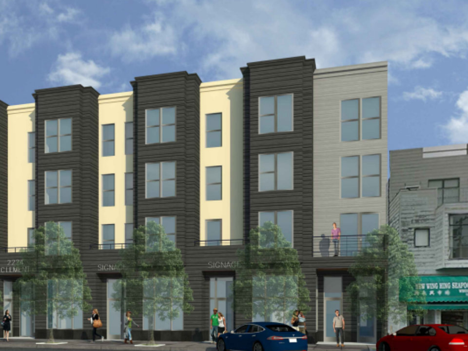 12-Unit Condo Building Proposed For Parking Lot At 23rd & Clement ...