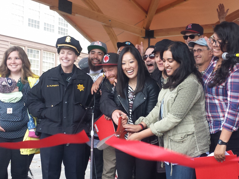 Playland at 43rd ribbon cutting