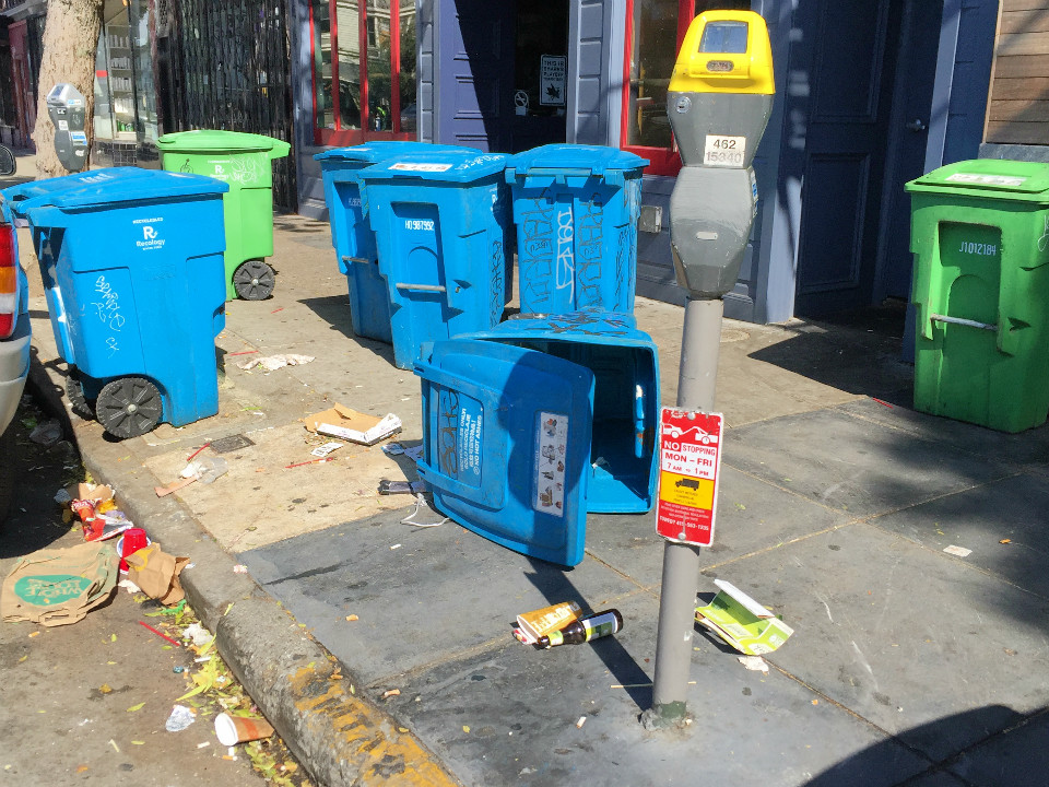 bay to breakers aftermath  a crime and garbage recap