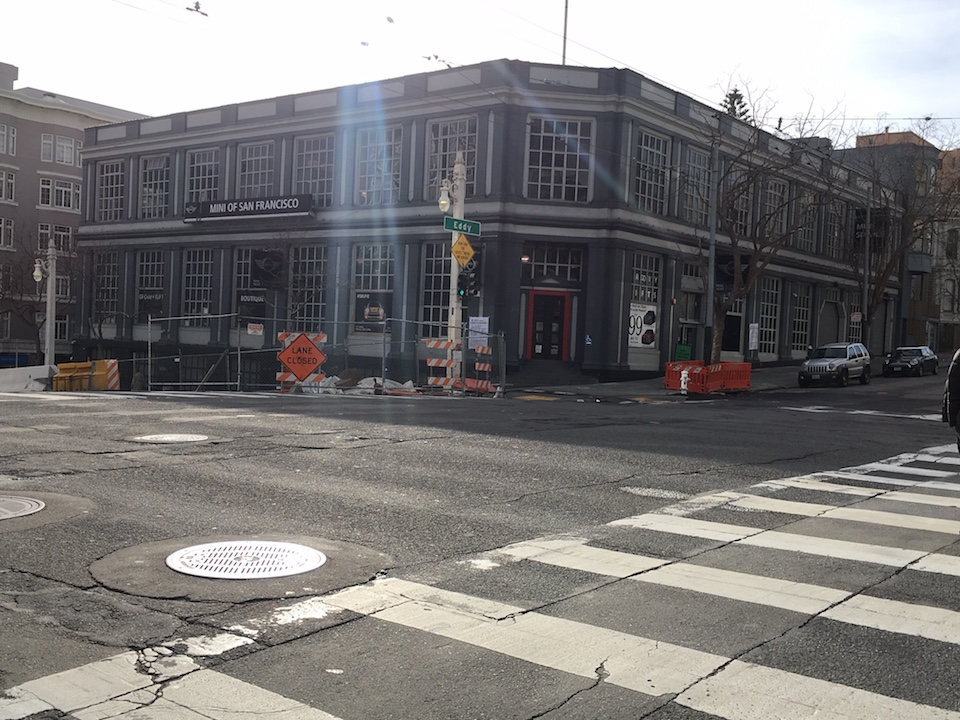 Van Ness Mini auto showroom set to become 40,000-square-foot luxury gym