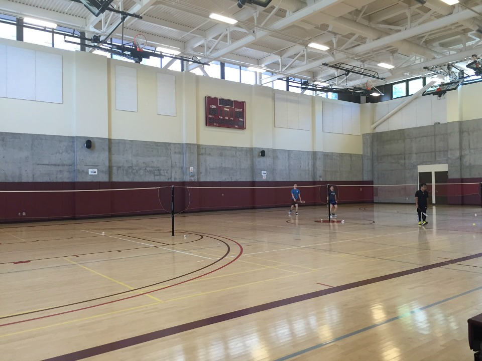 Betty ong rec center serving the chinatown community for Basketball court installation cost