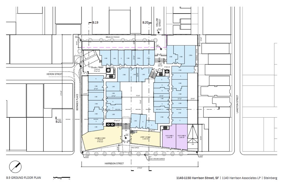 381 Market Rate Units Proposed For 7th Harrison Auto