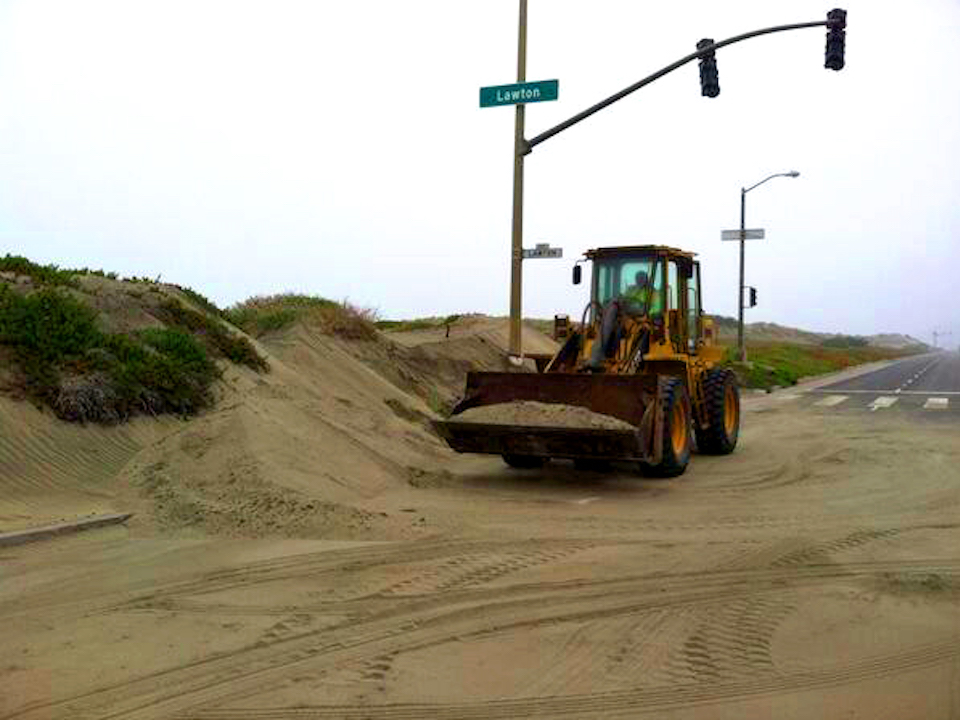 Sf public works sand removal