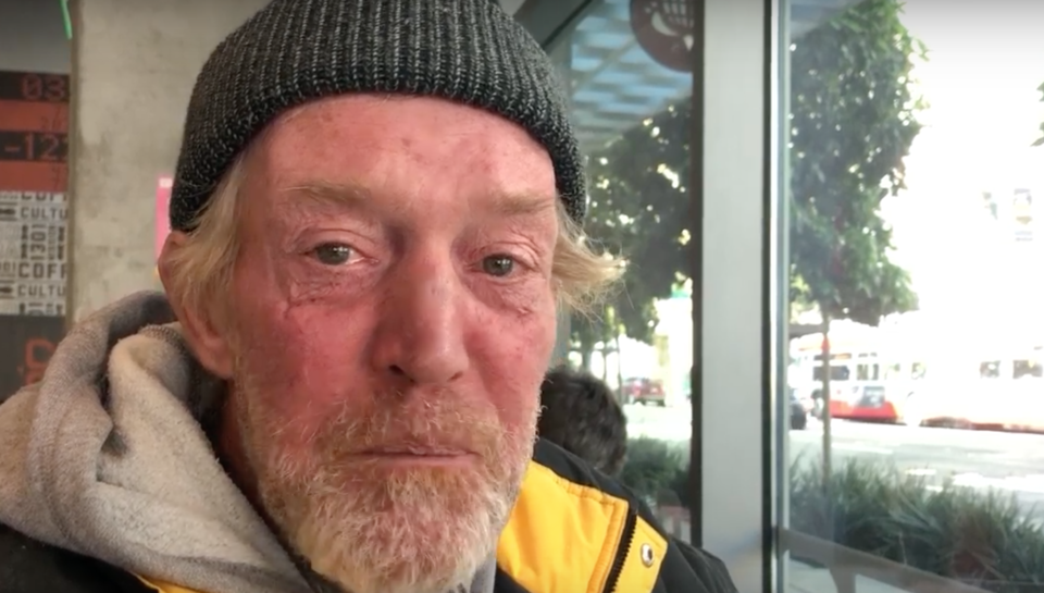 Miracle Messages: help houseless San Franciscan Louie connect with his daughter Gabriella
