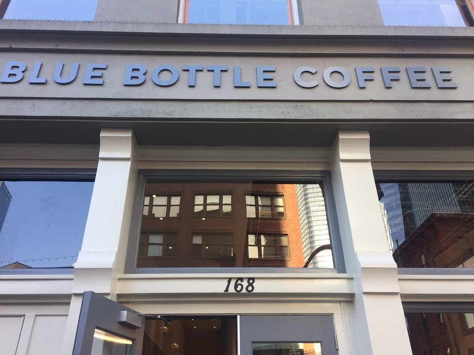 Blue Bottle Coffee opens 10th San Francisco location in the FiDi