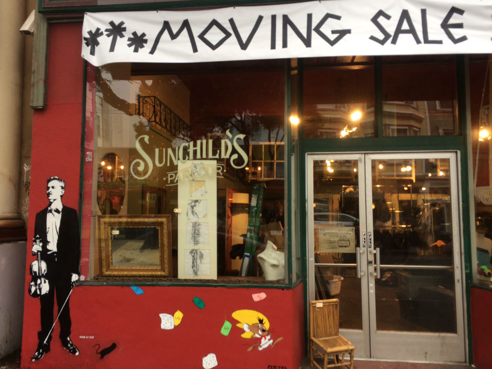 After 2 years, vintage shop Sunchild's Parlour decamps the Haight — for now