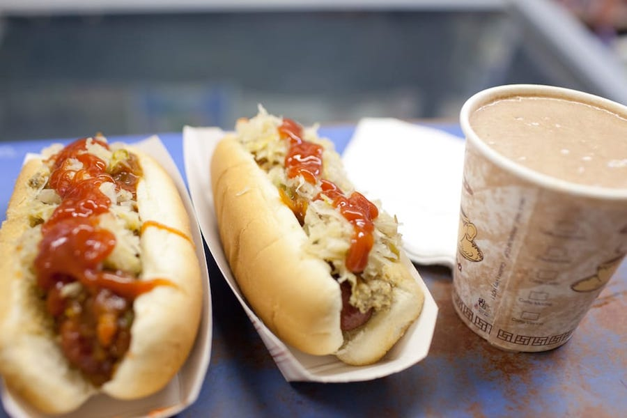 Hot Dogs in New York City 3