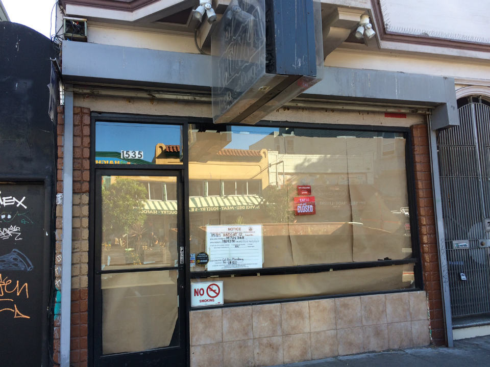 Haight Streetu0027s Big Slice Pizza Closes For Overhaul