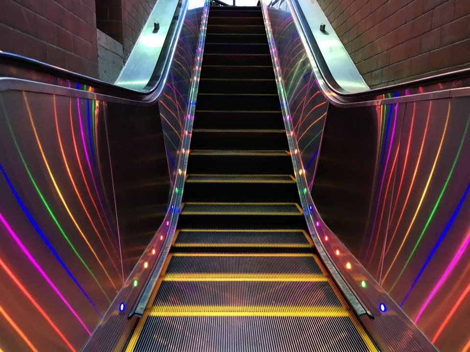 Rainbow Lights Are Headed To All 4 Castro Station ...