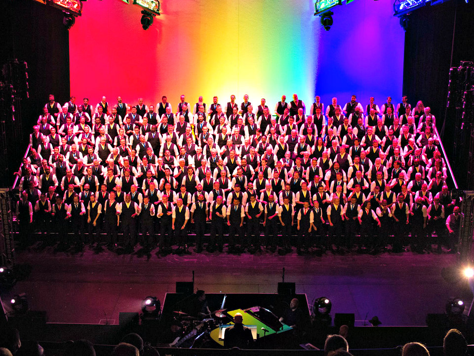 Why is the san francisco gay men's chorus coming to greenville
