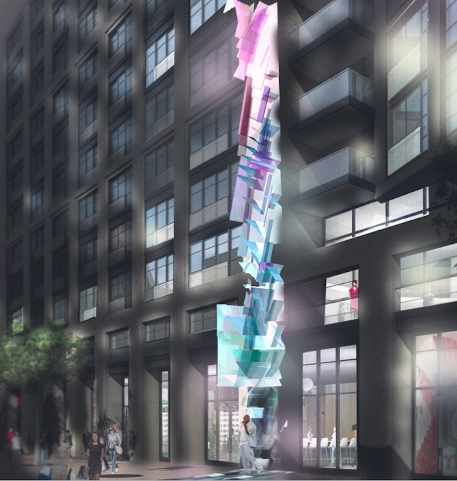 186 Unit Building Planned For The Hall Space At At 6th