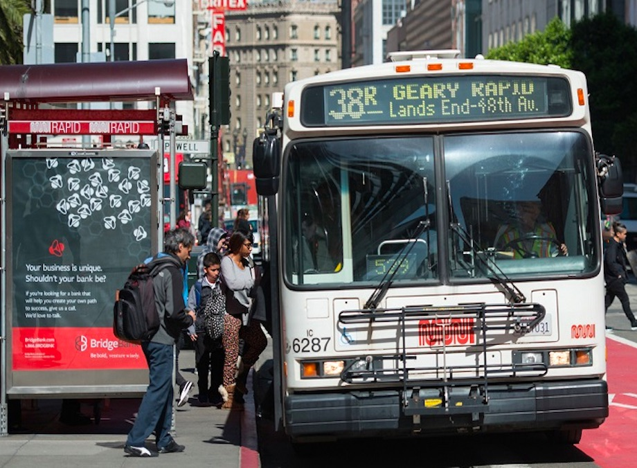 richmond merchant group sues to block geary bus rapid transit