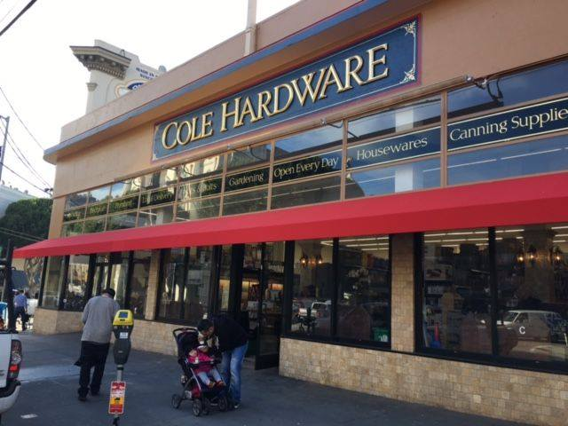 Cole hardware north beack