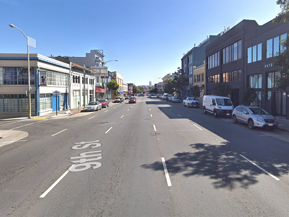 Motorcyclist suffers life-threatening injuries in SoMa traffic collision