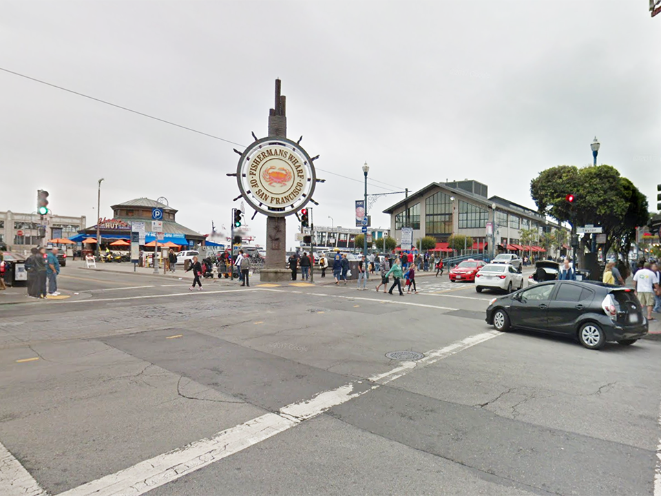 Man stabbed to death in broad daylight at Fisherman's Wharf