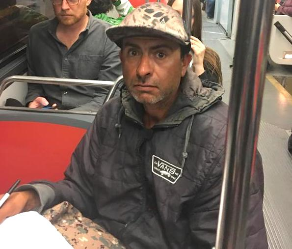 Muni sexual battery suspect