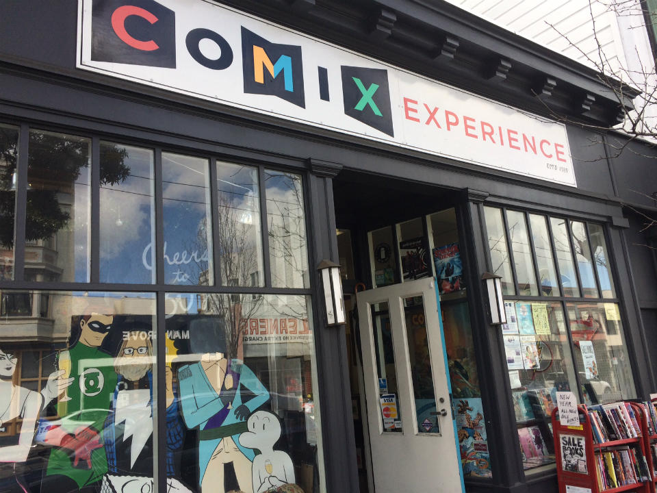Divisadero's Comix Experience turns 30 this weekend