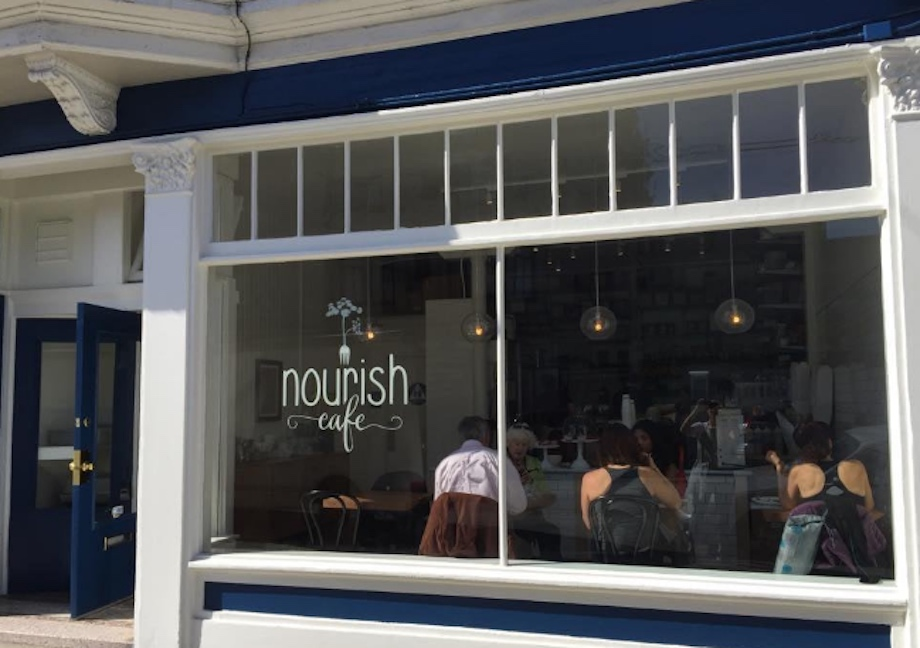 Nourish cafe 6th and ca exterior