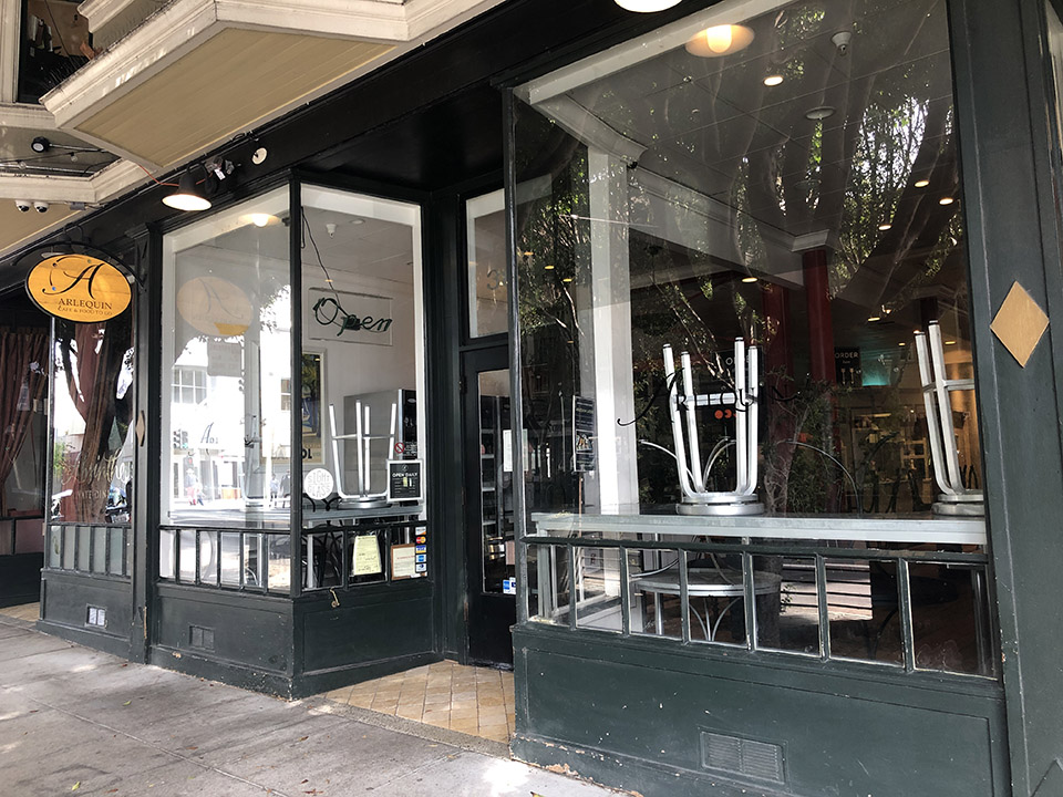 Arlequin Café shutters after 18 years in Hayes Valley