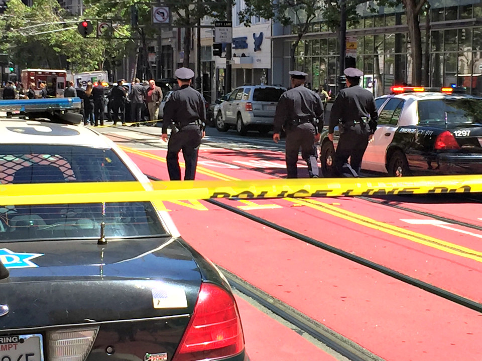 Sfpd market and 5th shooting