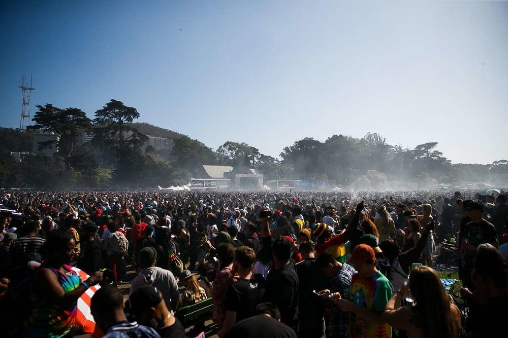 Traffic, food trucks, and a bigger crowd: what to expect at this year's Haight 4/20 event