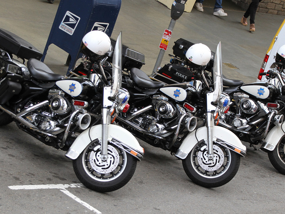 Sfpd motorcycles