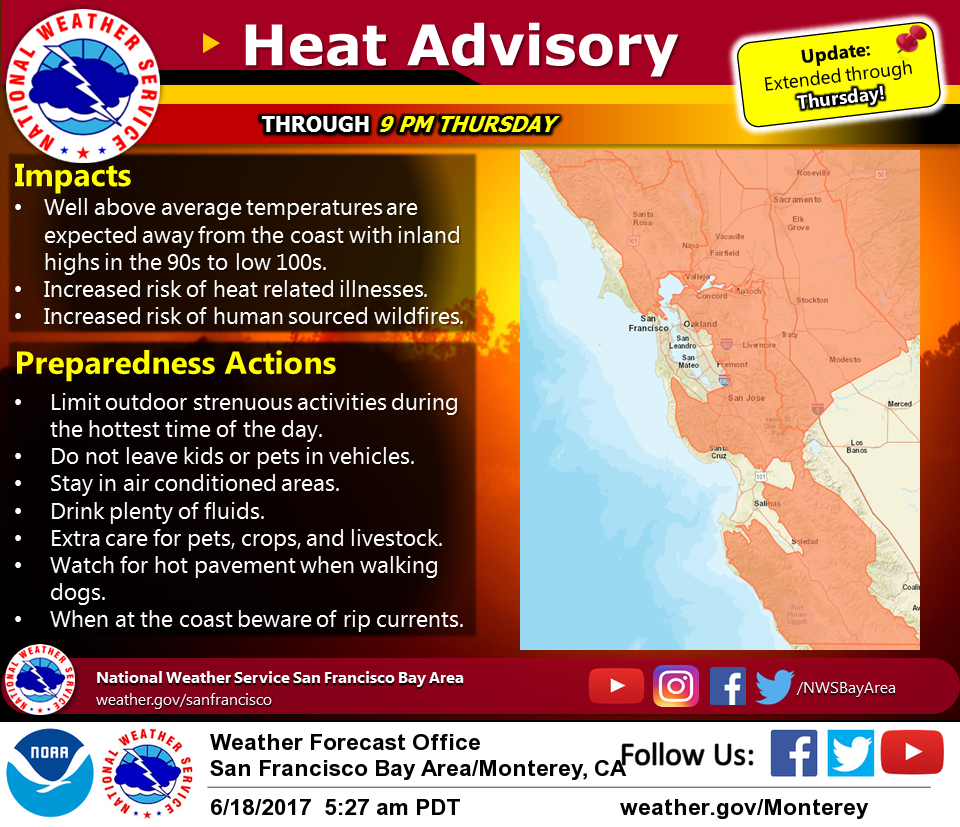 Heat Wave To Continue As San Francisco Hits Record High Hoodline