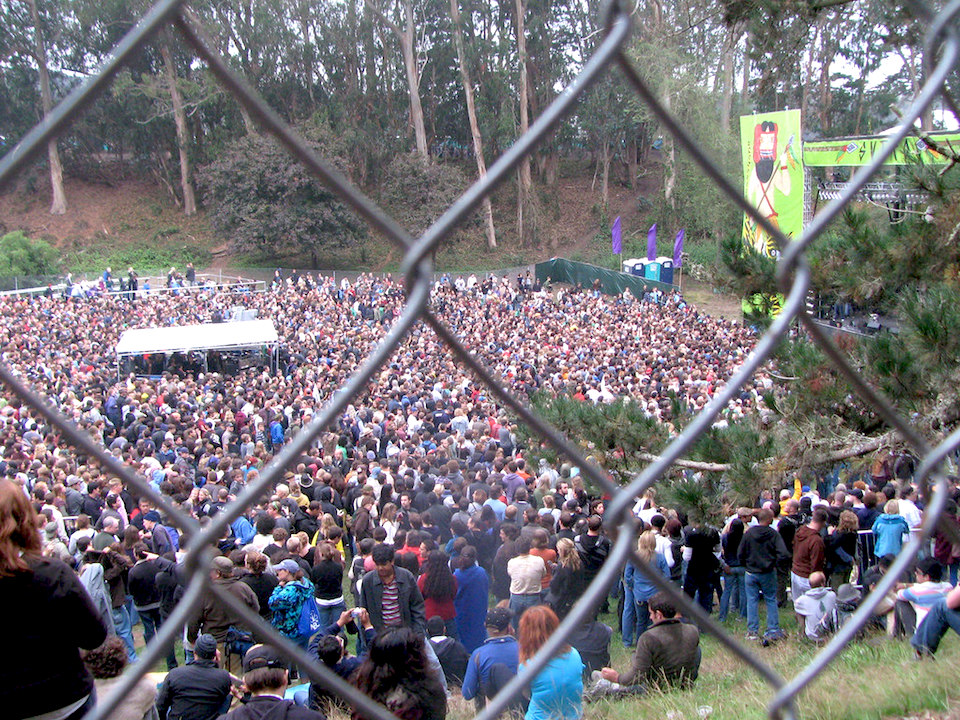 Fences at outside lands by ann larie valentine