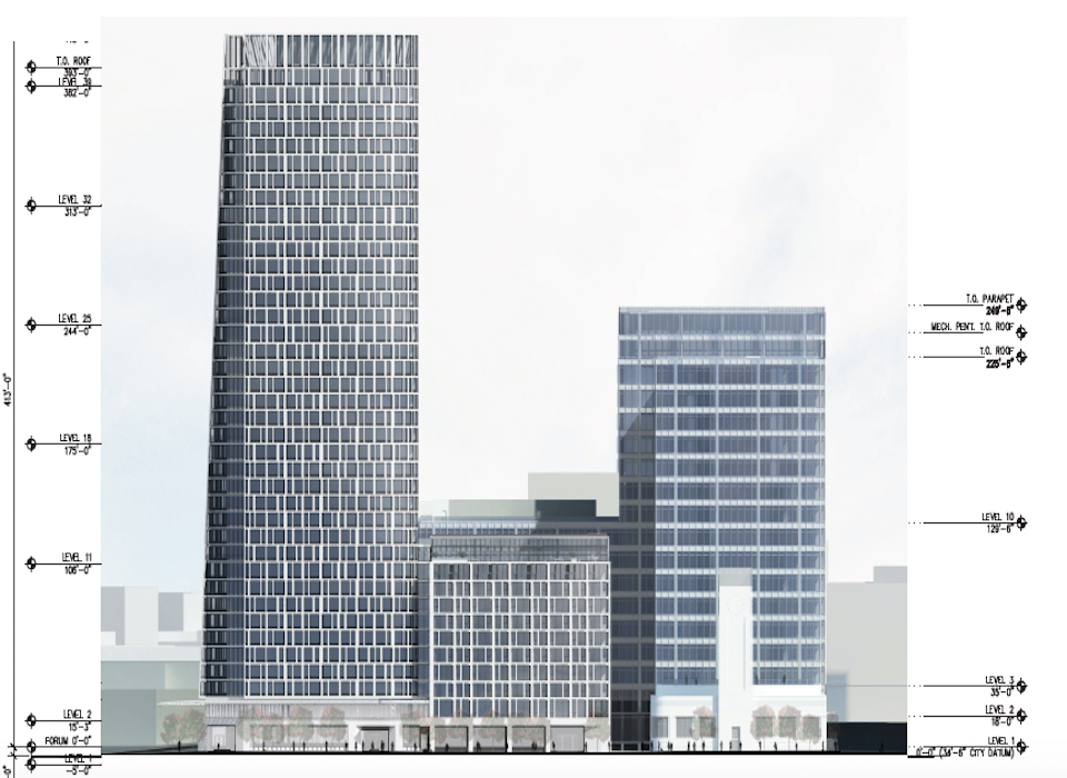 49 Floor Mixed Use Development Proposed For Van Ness