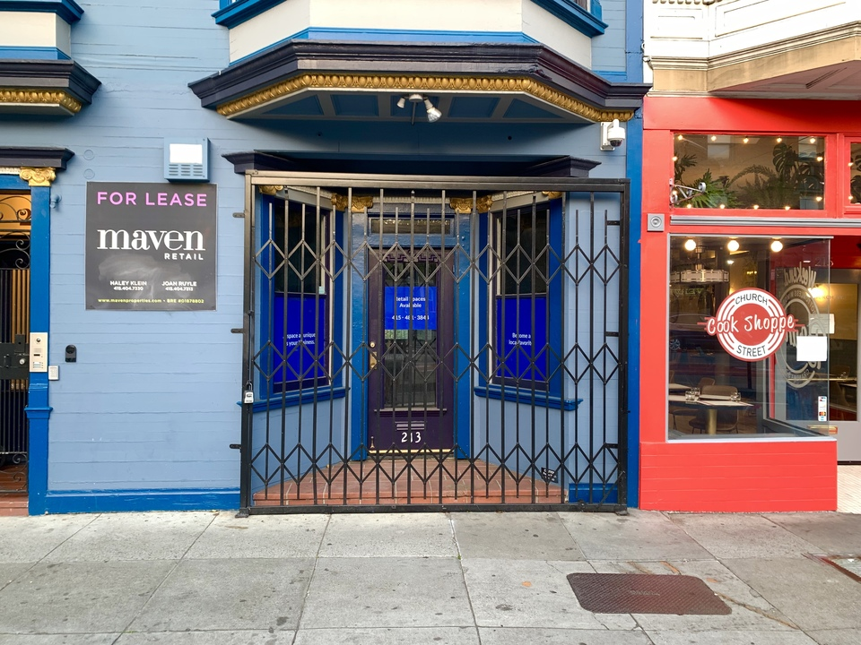 What's going on with Church & Market's vacant storefronts