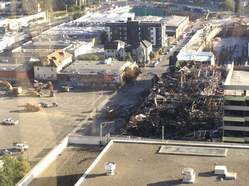 Federal Investigators to Examine Oakland Construction Site Fire