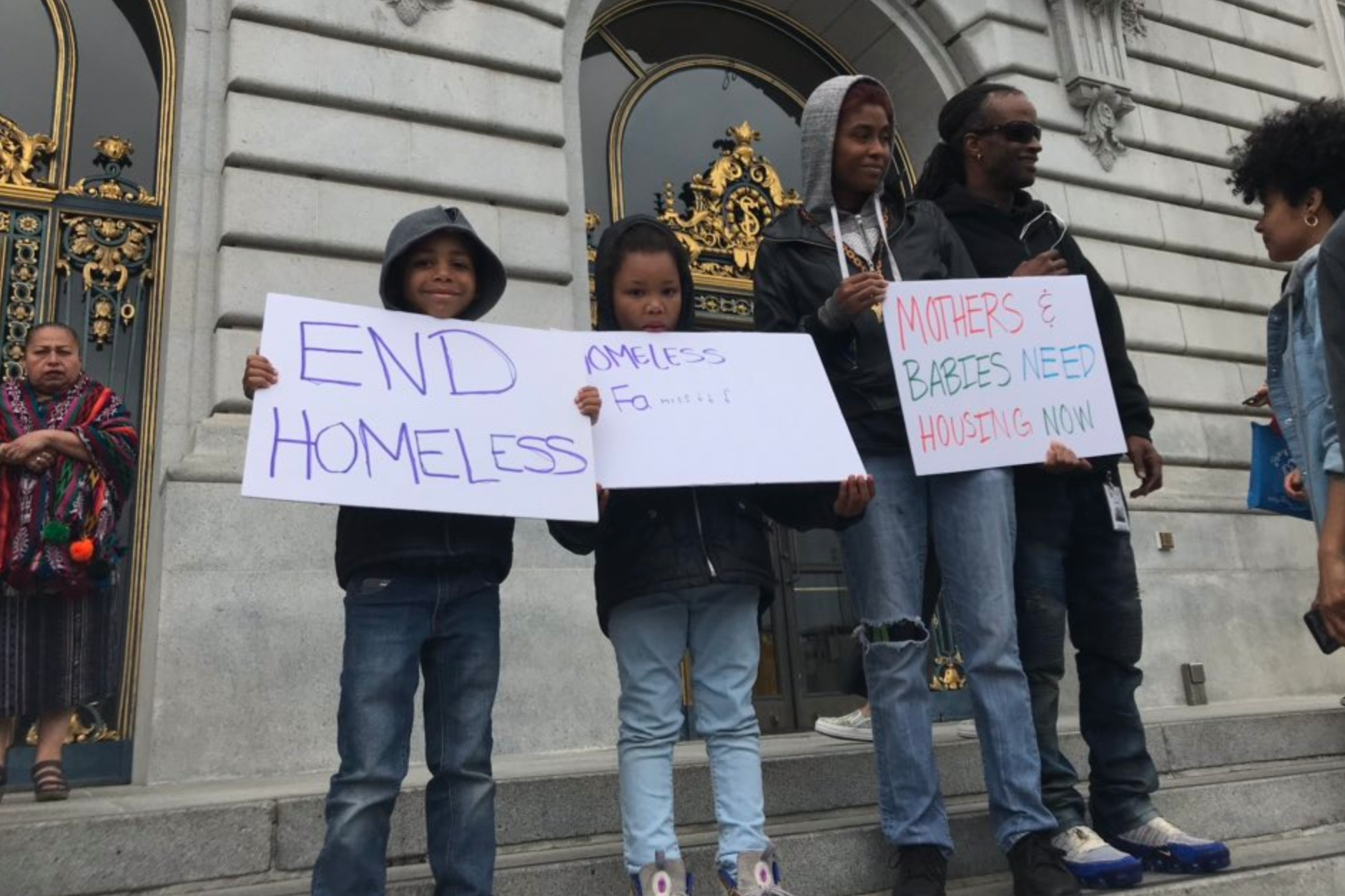 Living A Nightmare San Francisco S Homeless Mothers