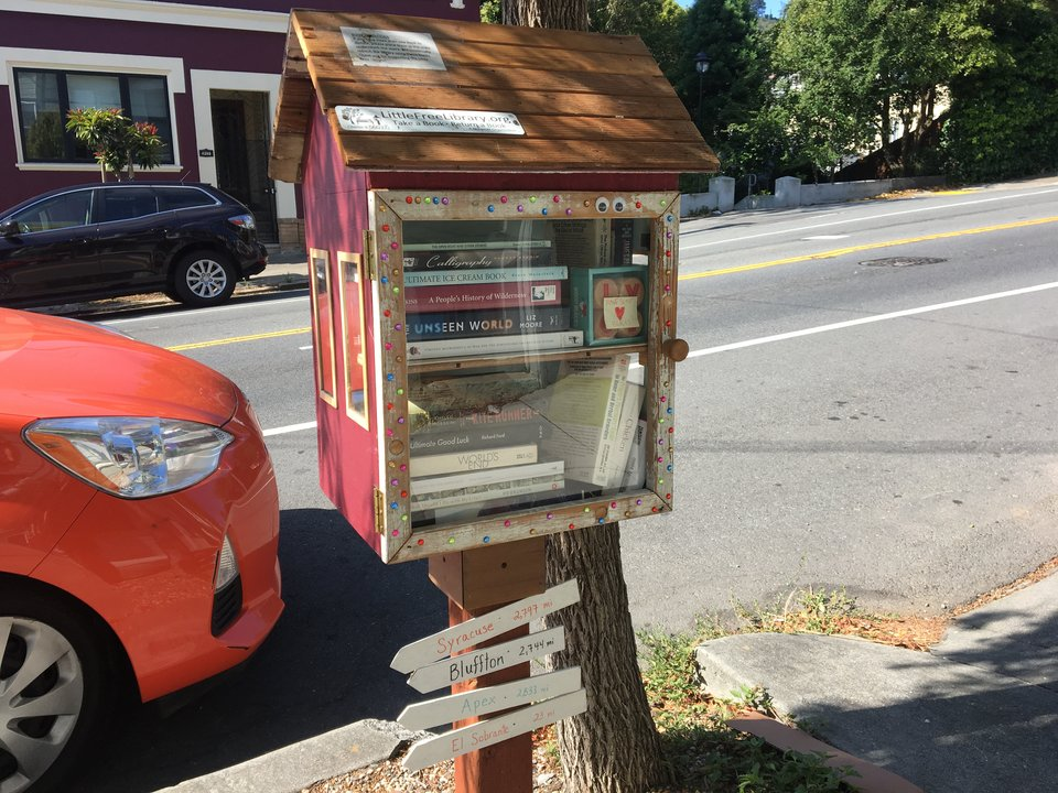 Rsz little free library