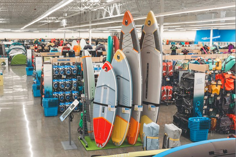 Find sporting goods and more at Clawson's new Decathlon