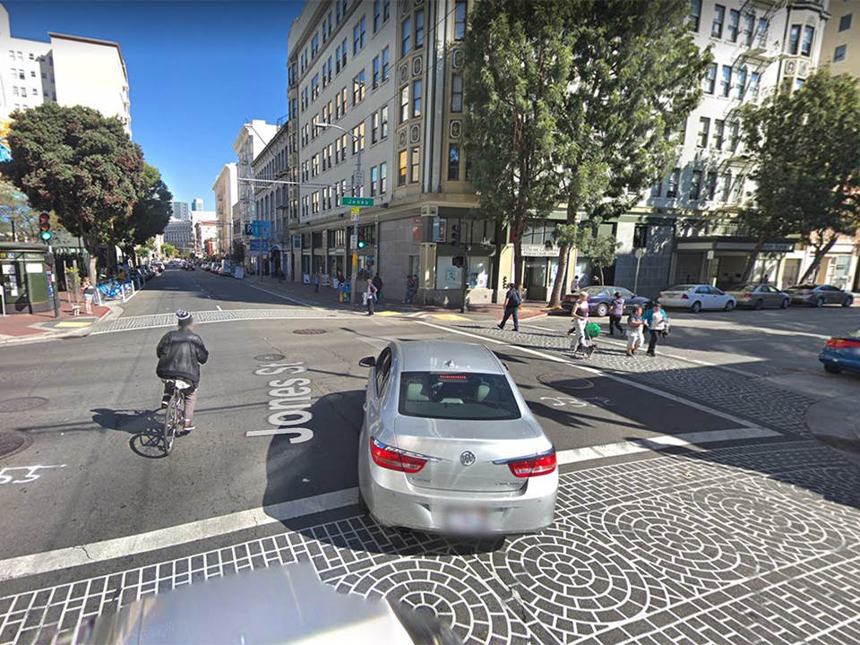 Pedestrian in critical condition after being struck by driver in the Tenderloin