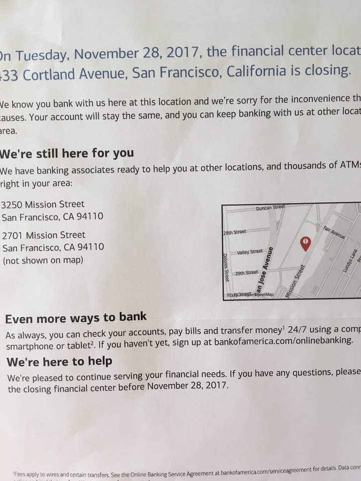 how to close your bank of america account